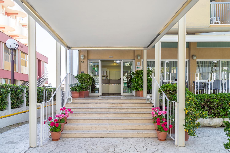 Hotel Haway Rimini - ingresso