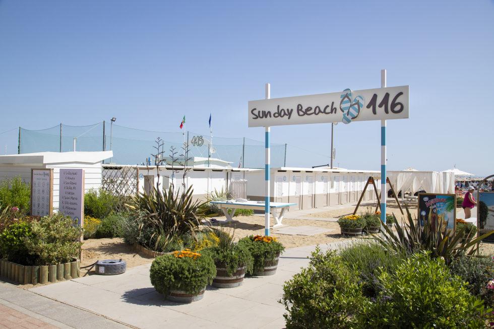 Hotel Haway Rimini - spiaggia
