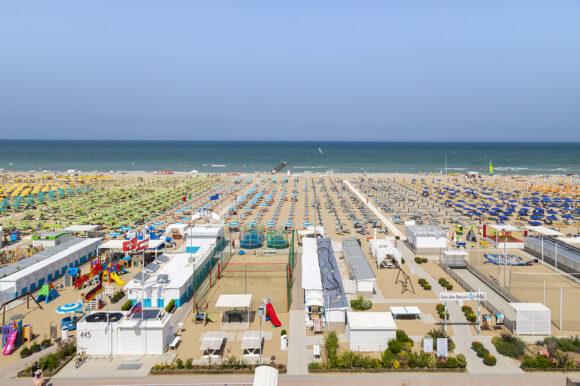 Hotel Haway Rimini - vista mare